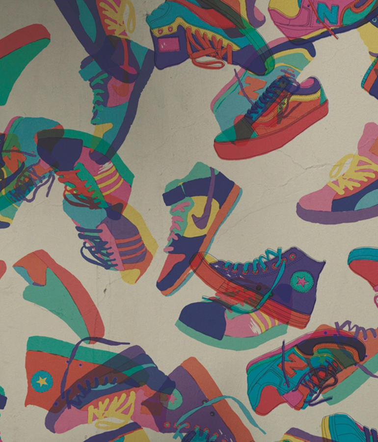 Sneakers - Stepping into the urban culture