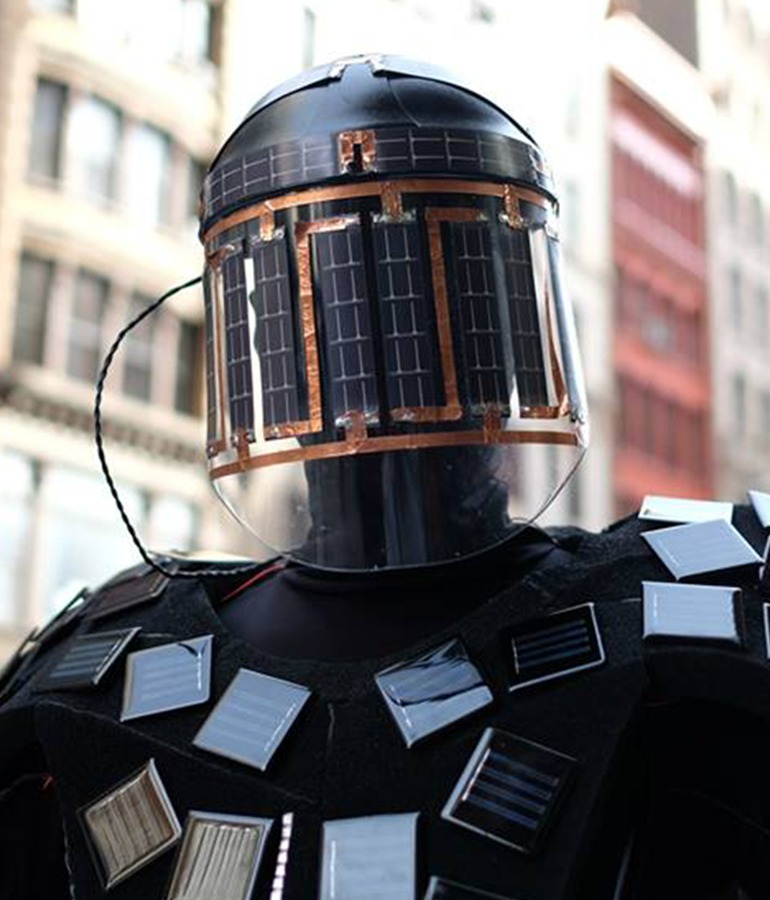 Solar Power Man